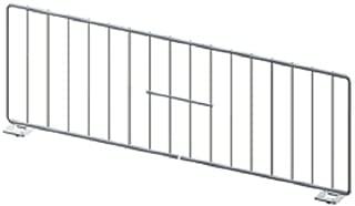 Gondola Shelf Divider Fence Chrome Lozier Madix USA Made 11