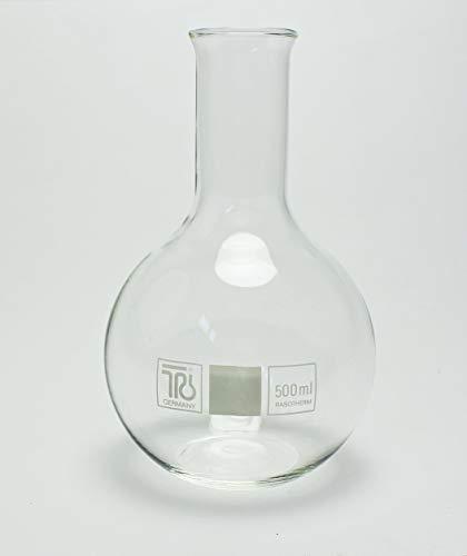 Buddel-Bini Stehkolben 500ml Glas Flasche Vase dekorativ Spartopf Geschenk Aufbewahrung NEU Kolben