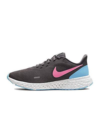 Nike Women's Revolution 5 Running Shoe, Thunder Grey/Digital Pink, 8.5