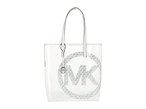 Michael Kors The Michael Bag Large North South Tote Bright White One Size