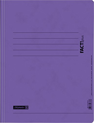 Brunnen 102010660 Schnellhefter FACT!plus (A4, aus Karton) violett