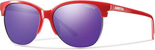 Smith Herren Rebel Te Fwn 58 Sonnenbrille, Rot