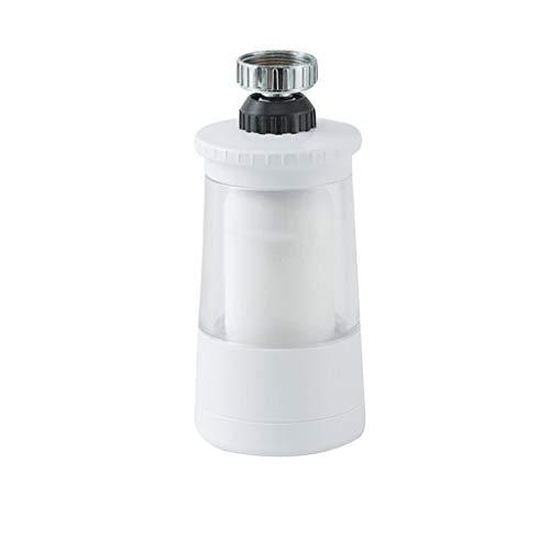 Bestyyo Grifo de filtro limpio de agua, filtro de grifo de agua minipurificado con un elemento de filtro para grifos estándar, fácil de instalar (blanco, 10,8 x 5,2 x 10,5 cm)