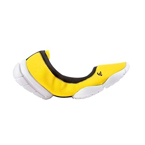 Freddy 3pro Ballerina, Damen Outdoor Fitnessschuhe , Gelb - Yellow (Yellow Y), 38 EU (7 UK)