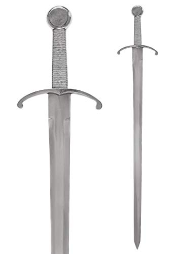 Battle-Merchant Mittelalterliches Schwert aus Stahl - 92,5 cm - Echt Metall