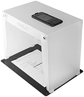 SCANLIO Pro | Scanbox pliable | Scanner facilement et rapidement des documents avec votre téléphone portable.