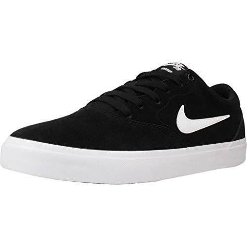 Nike SB Charge Größe 46 EU Schwarz (Black/White-Black)
