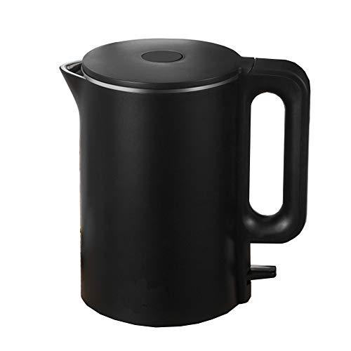 QWER Bouilloire électrique à ébullition Rapide Bouilloire électrique Domestique Intelligente de 1,7 L en Acier Inoxydable,Noir