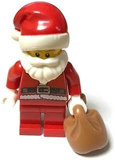 LEGOブロック・純正パーツ<ミニフィグ>サンタ Santa (1個, Tan) [並行輸入品]