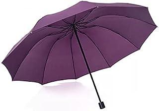 Marca Anti Big Paraguas Lluvia Mujeres Plegable A Prueba de Viento Sol Grandes Hombres Hi-Q Corporation Paraguas Mujer Par...