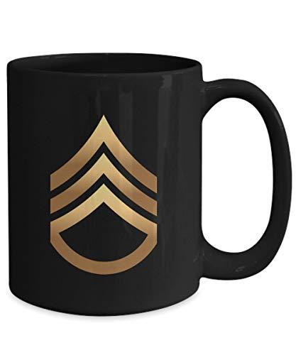 Lplpol US Army Staff Sergeant Kaffee Kaffee Tee Tasse – Army Staff Sergeant E-6 Kaffee Tee Tasse – Staff Sergeant Werbung Geschenke – Werbung für Staff Sergeant Geschenke