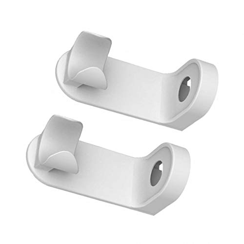 Soporte para cepillos de dientes, soporte para cepillo de dientes eléctrico, 98% sin rastro, soporte para cepillo de dientes montado en la pared, para el hogar, herramientas de baño, 2 unidades