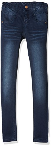 NAME IT Mädchen NKFPOLLY DNMTRILLE 3001 Pant NOOS Jeans, Blau (Dark Blue Denim), 152