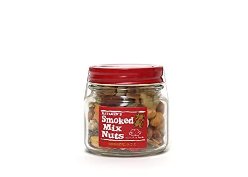 munchie foods(マンチーフーズ) MFSNB スモークミックスナッツ ボトル Smoked Mix Nuts in Bottle レギュラーボトル(145g) レッド