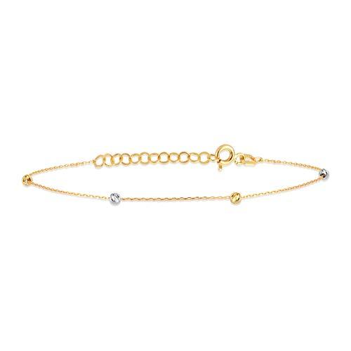 Pearl Station Chain Strand Bracelet by Gelin