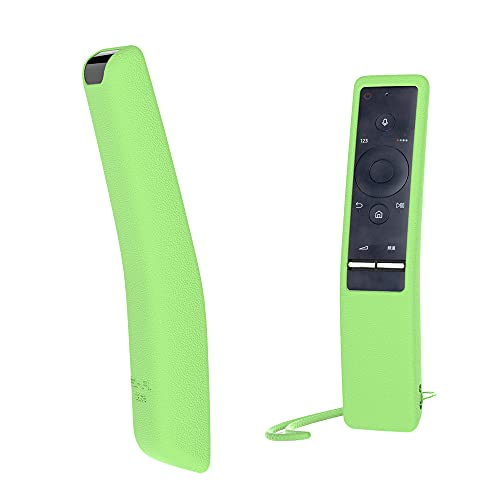 SIKAI CASE - Glow in Dark - Telaio del Telecomando BN59-01266A BN59-01274A BN59-01259E BN59-01260A della TV copertura protettiva anticaduta della cassa del silicone per Samsung Smart TV Remote Verde
