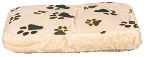 Trixie 37591 Gino Kissen, 60 × 40 cm, beige / dunkelbraun