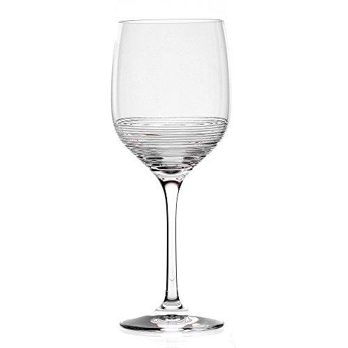 Cristal de Sèvres Carrousel Set de Verres à vin 8x8x20.3 cm Transparent
