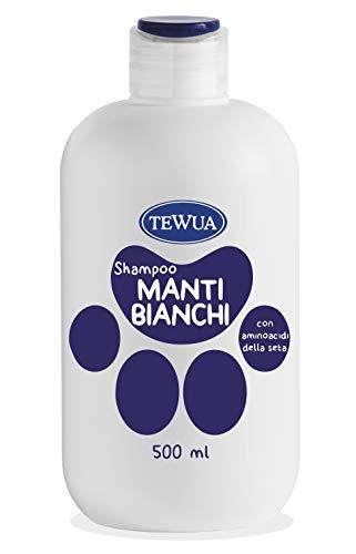 Tewua Shampoo Manti Bianchi 500Ml