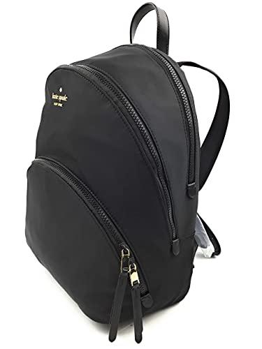 Kate Spade New York Karissa Nylon Large Backpack (Black)