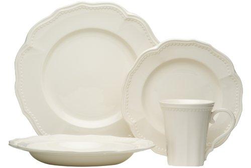Red Vanilla Classic White 16-Piece Dining Set