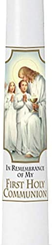 Autom Traditional Memories First Communion - pk Taper Award Candle 24 Sale item