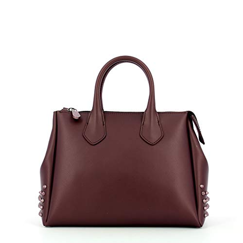 GUM Borsa a mano Fourty M Studs by Gianni Chiarini BURGUNDY