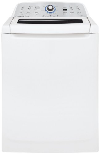 Frigidaire FAHE4044MW Affinity High Efficiency Top Load Washer with Glass Top - White