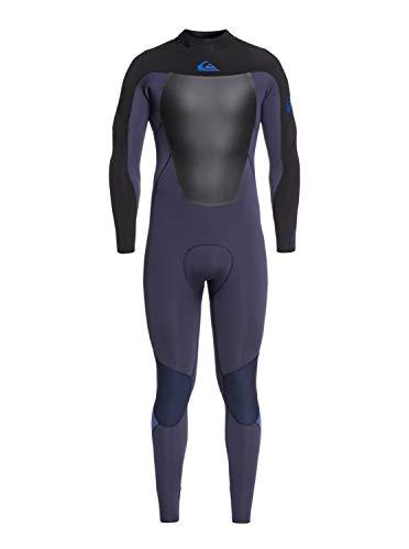 Quiksilver Mens 4/3Mm Syncro Series - Back Zip GBS Wetsuit for Men Back Zip GBS Wetsuit