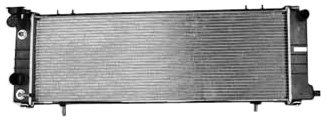 TYC 1193 Compatible with JEEP 1-Row Plastic Aluminum Replacement Radiator