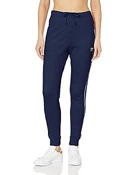 adidas Originals Women s Regular Cuffed Track Pants dark blue Large