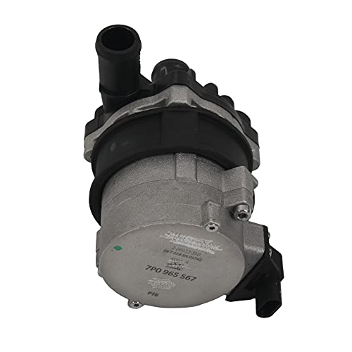Andylies 7P0965567 95860656700 4H0965567 Bomba de Agua Auxiliar para Coche para Cayenne 3.0 S 1.4 TSI -