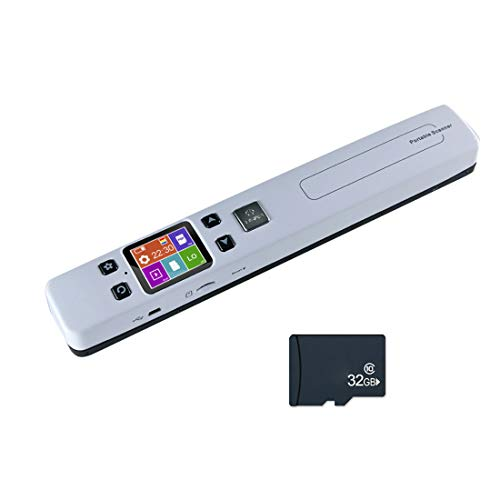 Buy Discount JMT Mini Document Images Scanner 1050DPI Scan A4 Size JPG/PDF Formate High Speed Portab...