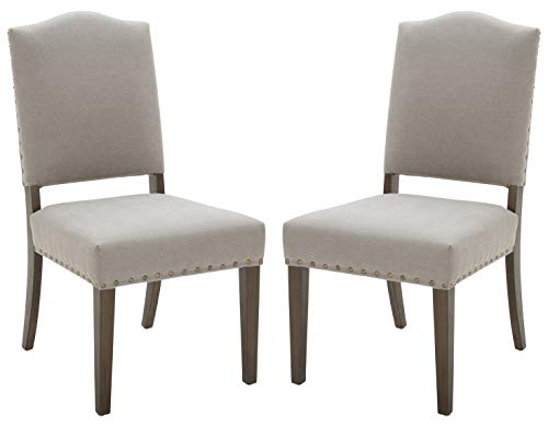 """Amazon Brand – Stone & Beam Dining Chair, 39""""H, Slate, Set of 2, King"""