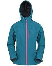 Mountain Warehouse Chaqueta Impermeable de 2,5 Capas para Mujer - Chubasquero para Mujer Transpirable, con Costuras Selladas, Ajustable - Ideal para Viajes, Senderismo