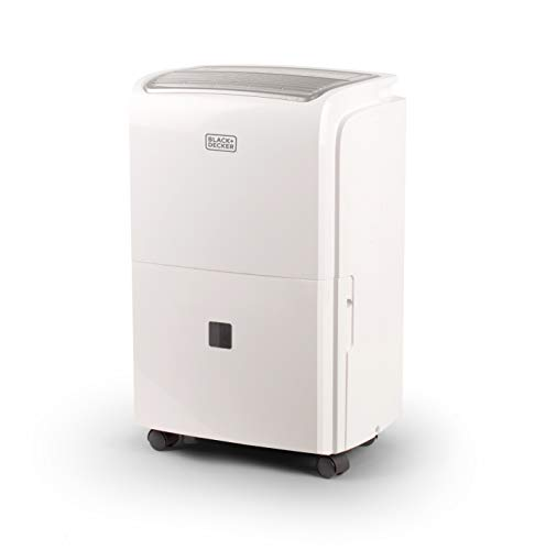 BLACK+DECKER BDT20WTB 20 Pints Dehumidifier, White