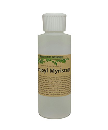 Cosmetic Grade Isopropyl Myristate (IPM) 4oz – Use with fragrances, shampoos, bath oils, antiperspirants, deodorants, oral hygiene products, and various creams and lotions Florida