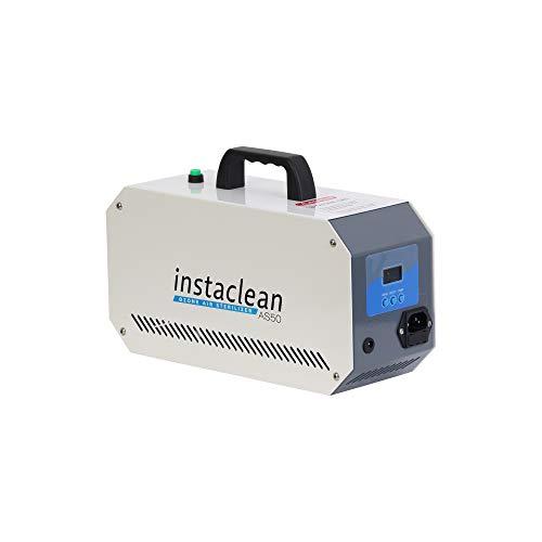 Instaclean 50 : Generador de Ozono Hogar, Máquina de Ozono para Coche Desinfectador de ozono Purificador Ozono de Aire con Temporizador de 60 min para Eliminaciónn de Olor y Desinfección
