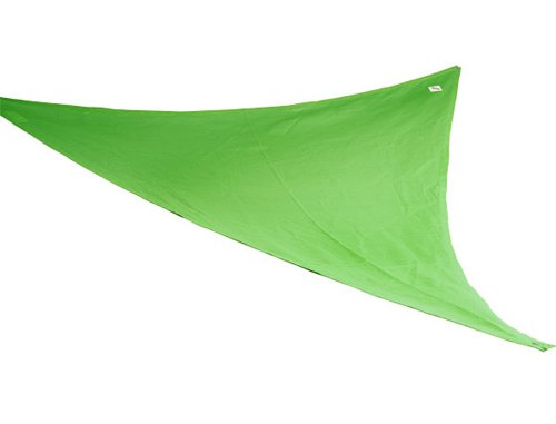 Coolaroo Shade Sail, Triangle Party Sail , (9'10'), Blue