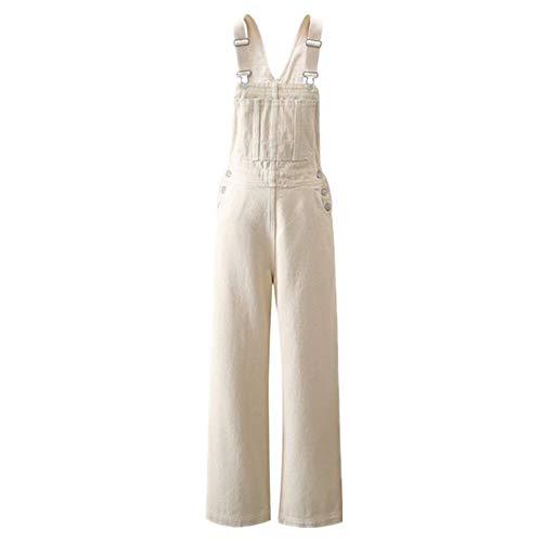 Pantalones vaqueros anchos sueltos y delgados para mujer.