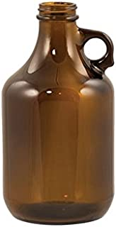 Beer Bottles - 32 oz Amber Growler - Case of 12