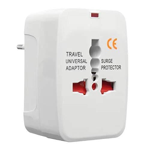Switched eléctrico Adaptador universal del recorrido del zócalo del enchufe de energía del adaptador 110-250V 10A