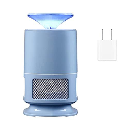 AAAHHH Lámpara para Matar Mosquitos, Tipo De Inhalación para El Hogar, Dormitorio, Lámpara LED para Matar Mosquitos, para Matar Mosquitos, con Luz Azul para El Hogar, La Cocina, El Dormitorio,Azul