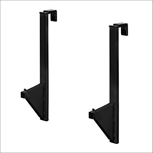 """Adir Corp. Cubicle Blueprint Storage - Hanging Poster Display Rack - Plans File Holder Organizer with Pack of 12 (30"""") File Hanging Clamps for Small Or Big Office, Home (Black)"""