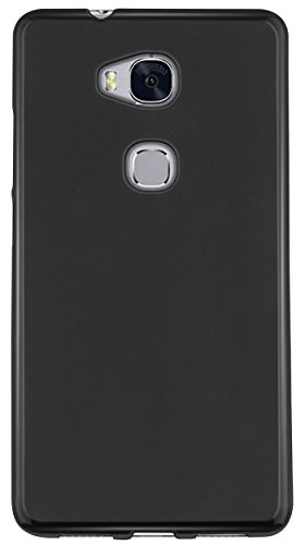mumbi Hülle kompatibel mit Honor 5X Handy Case Handyhülle, schwarz - 4