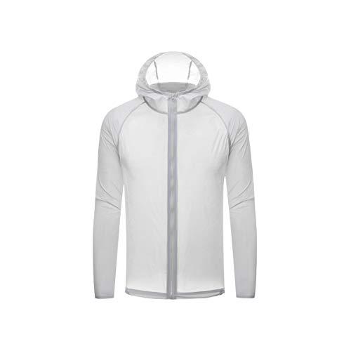 Chaqueta de piel de secado rápido unisex super fina protección solar impermeable ciclismo correr deportes chaqueta con capucha abrigo