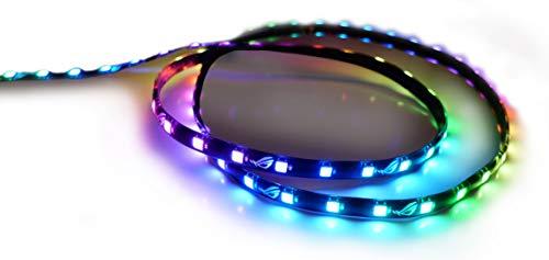 ASUS Luces LED ROG ADDRESSABLE LED STRIP-60CM 90MP00V0-M0UAY0, 30 LÁMPARA(S), LED, Interior,...