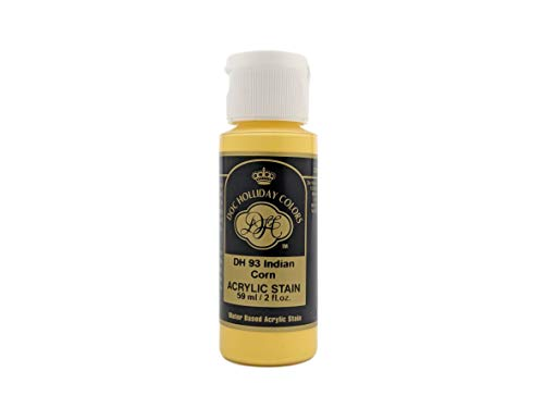 Doc Holliday Colors Acrylic Craft Paint for Ceramics (2 fl oz) (DH93 - Indian Corn)