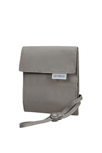 Samsonite Global Travel Accessories Multi-Pocket Portadocumenti da Collo, 34 centimeters, Grigio (Eclipse Grey)