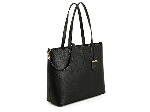 Ralph Lauren Andover Tote, Black, Medium